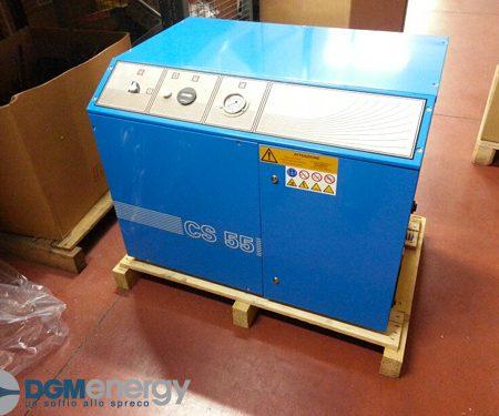 Compressore a pistoni silenziato DGM CS 55