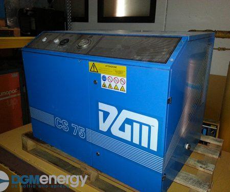 Compressore a pistoni silenziato DGM CS 75